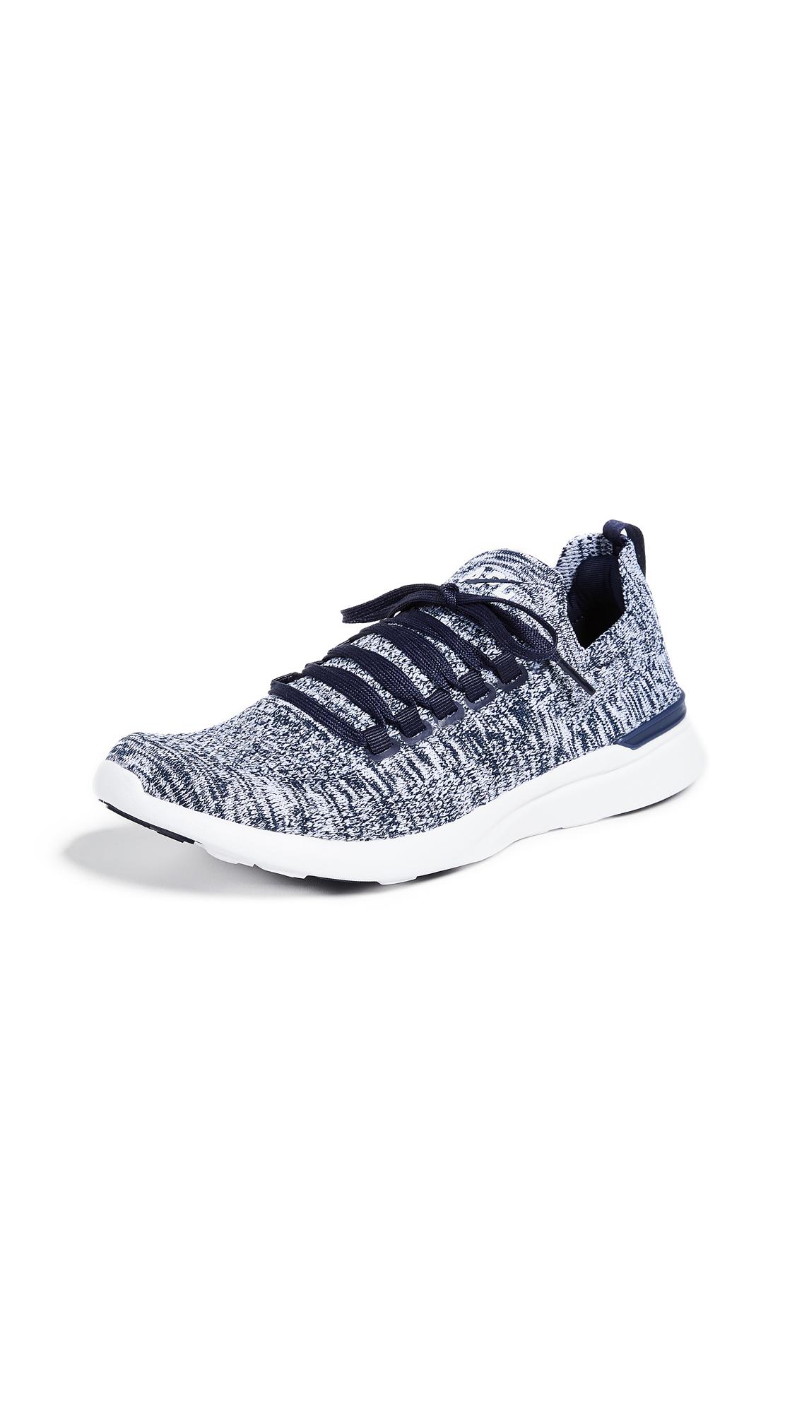 APL: Athletic Propulsion Labs TechLoom Breeze Sneakers - Navy/White Melange