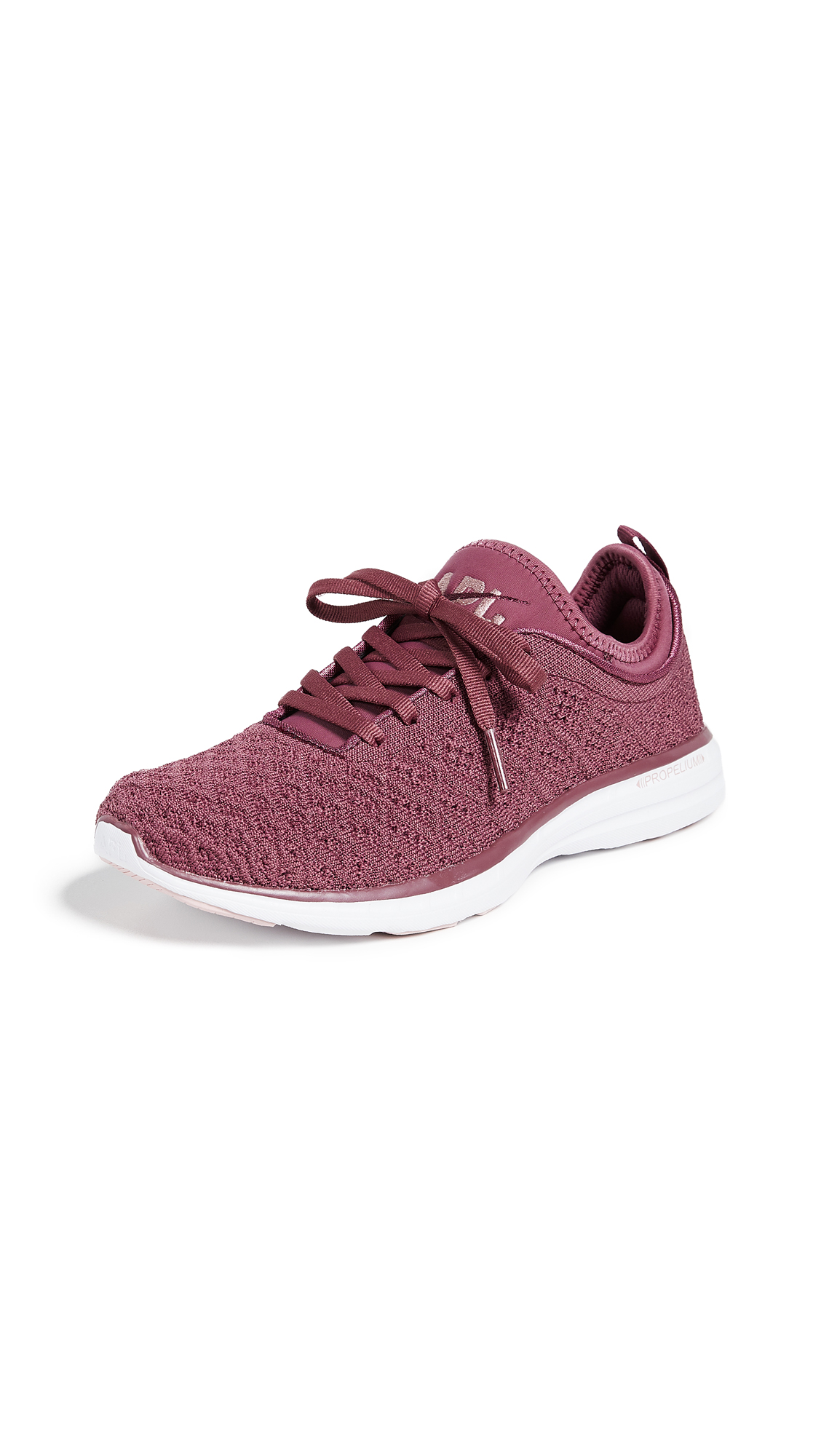 APL: Athletic Propulsion Labs TechLoom Phantom Sneakers - Victorian Red/Dusty Rose
