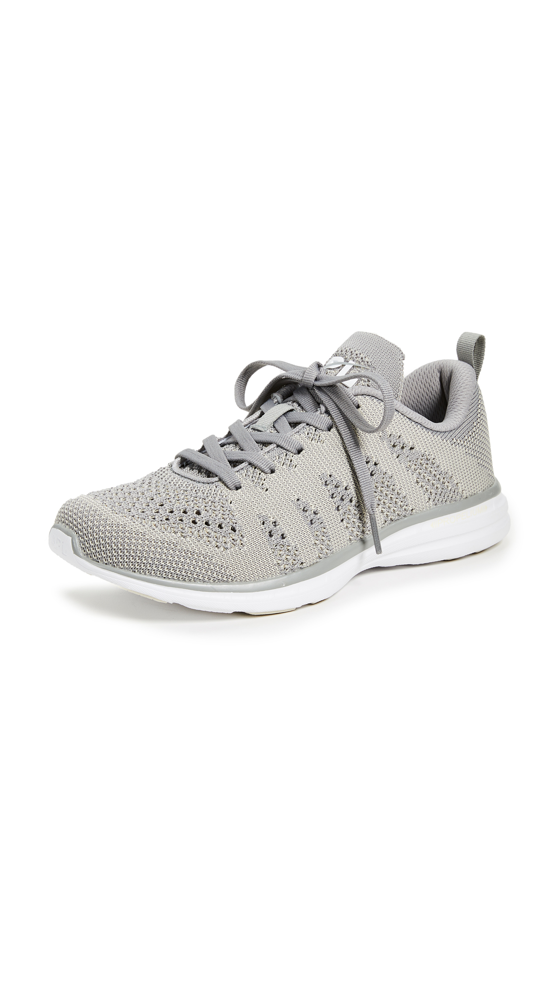 APL: Athletic Propulsion Labs TechLoom Pro Sneakers - Sleet/Parchment/White