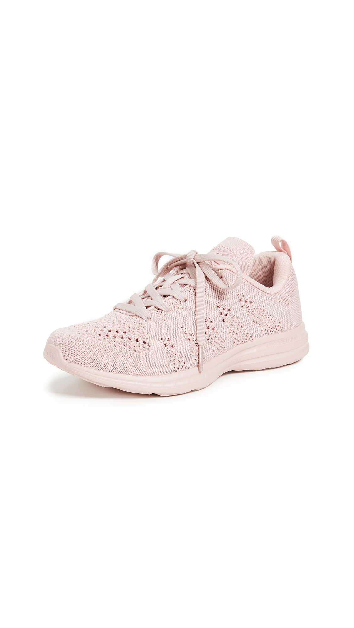 APL ATHLETIC PROPULSION LABS Techloom Pro Mesh Sneakers in Pastel Pink