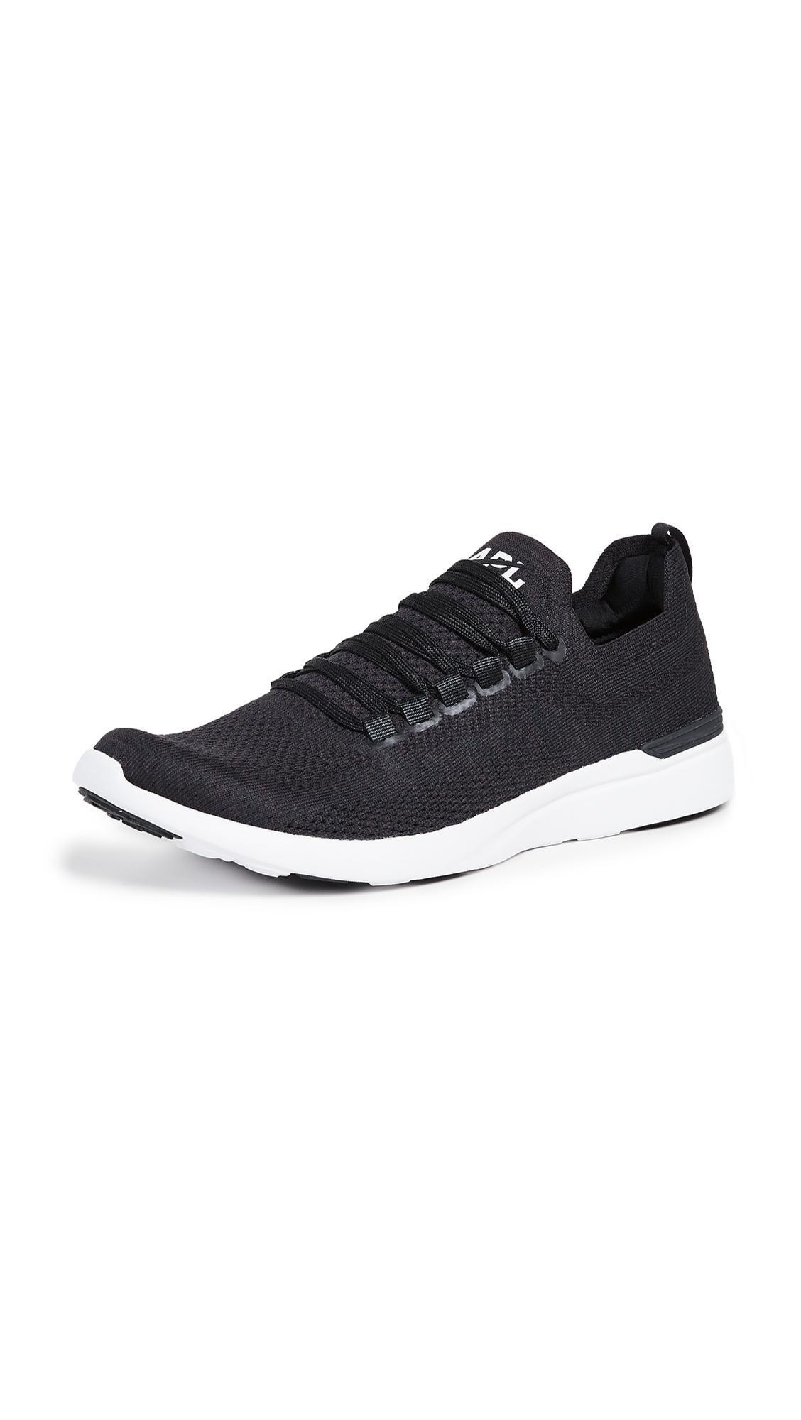 Apl Athletic Propulsion Labs Black Techloom Breeze Running Sneakers