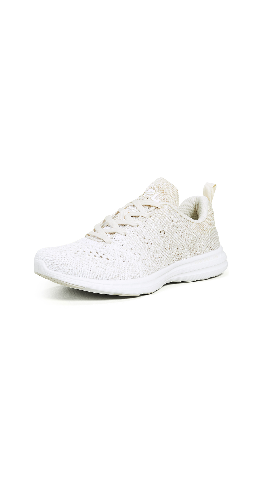 APL: Athletic Propulsion Labs TechLoom Pro Sneakers - Parchment/White/Ombre