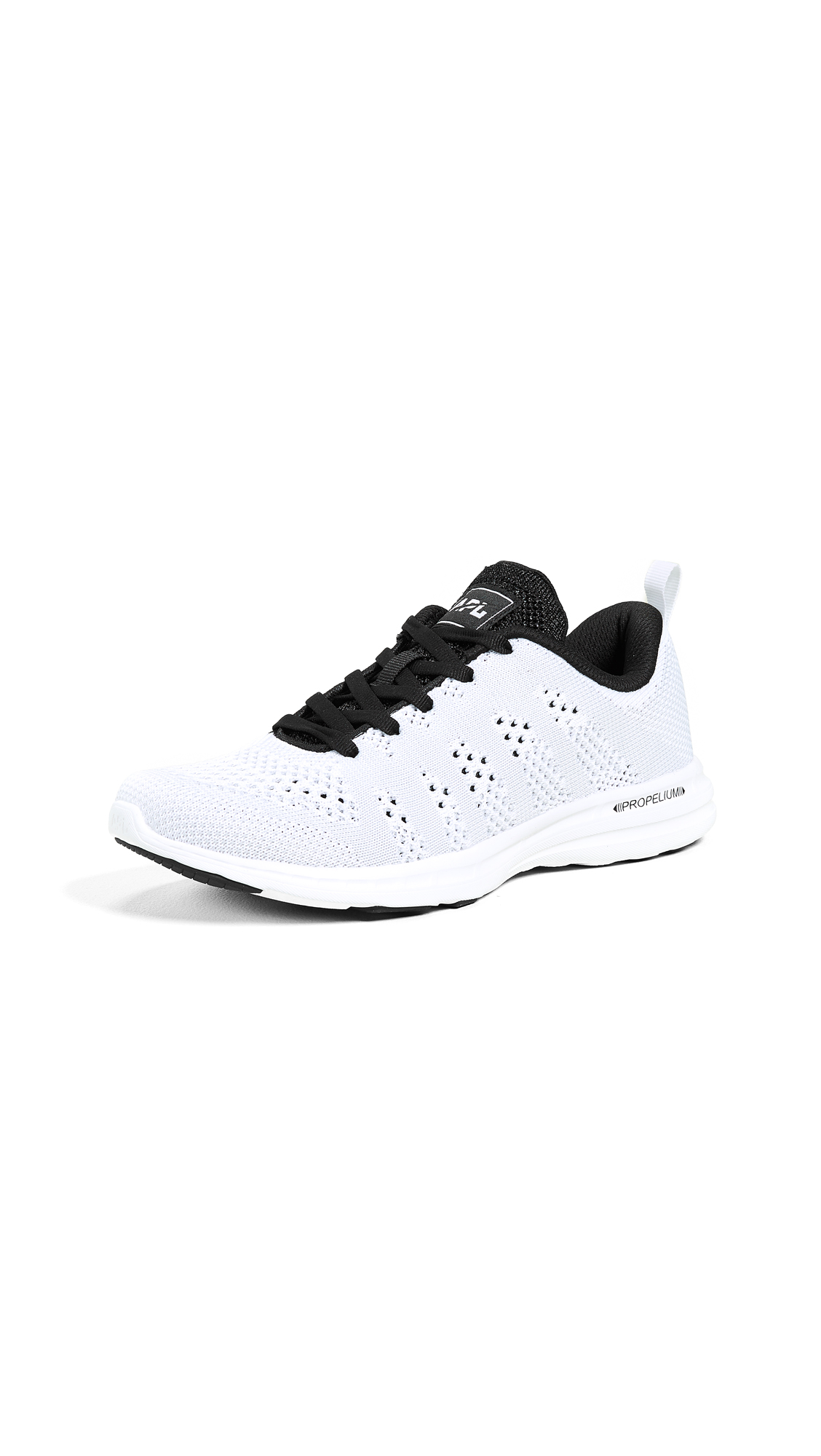 APL: Athletic Propulsion Labs TechLoom Pro Sneakers - White/Grey/Metallic Black