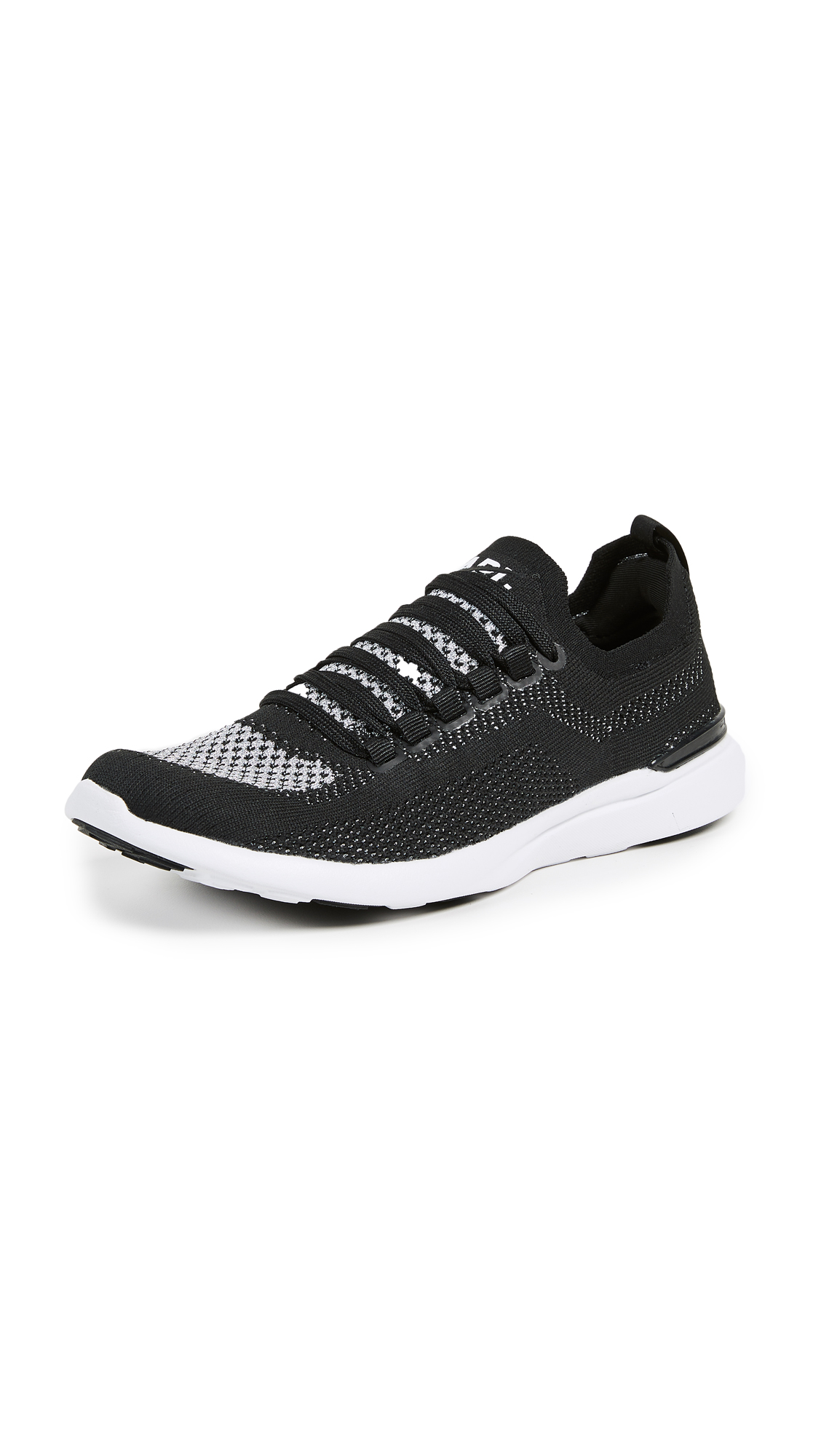 APL: Athletic Propulsion Labs TechLoom Breeze Sneakers - Black/Metallic Silver/White