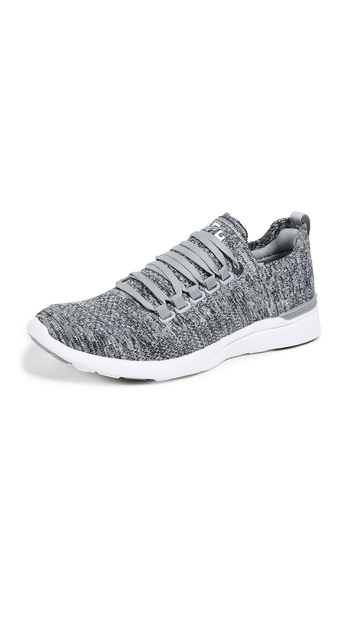 APL: Athletic Propulsion Labs TechLoom Breeze Sneakers - Heather Grey/White