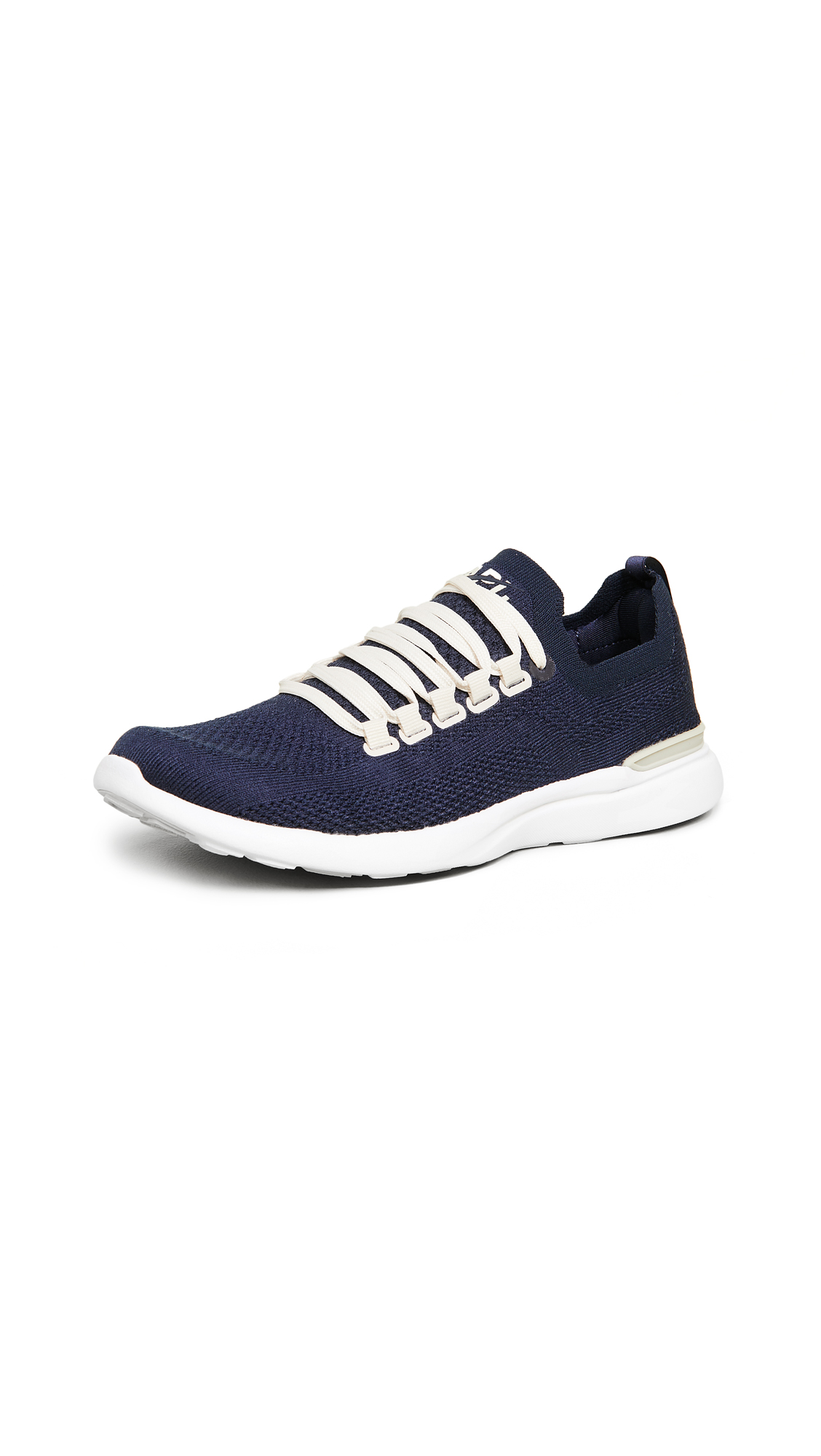 APL: Athletic Propulsion Labs TechLoom Breeze Sneakers - Navy/Parchment/White