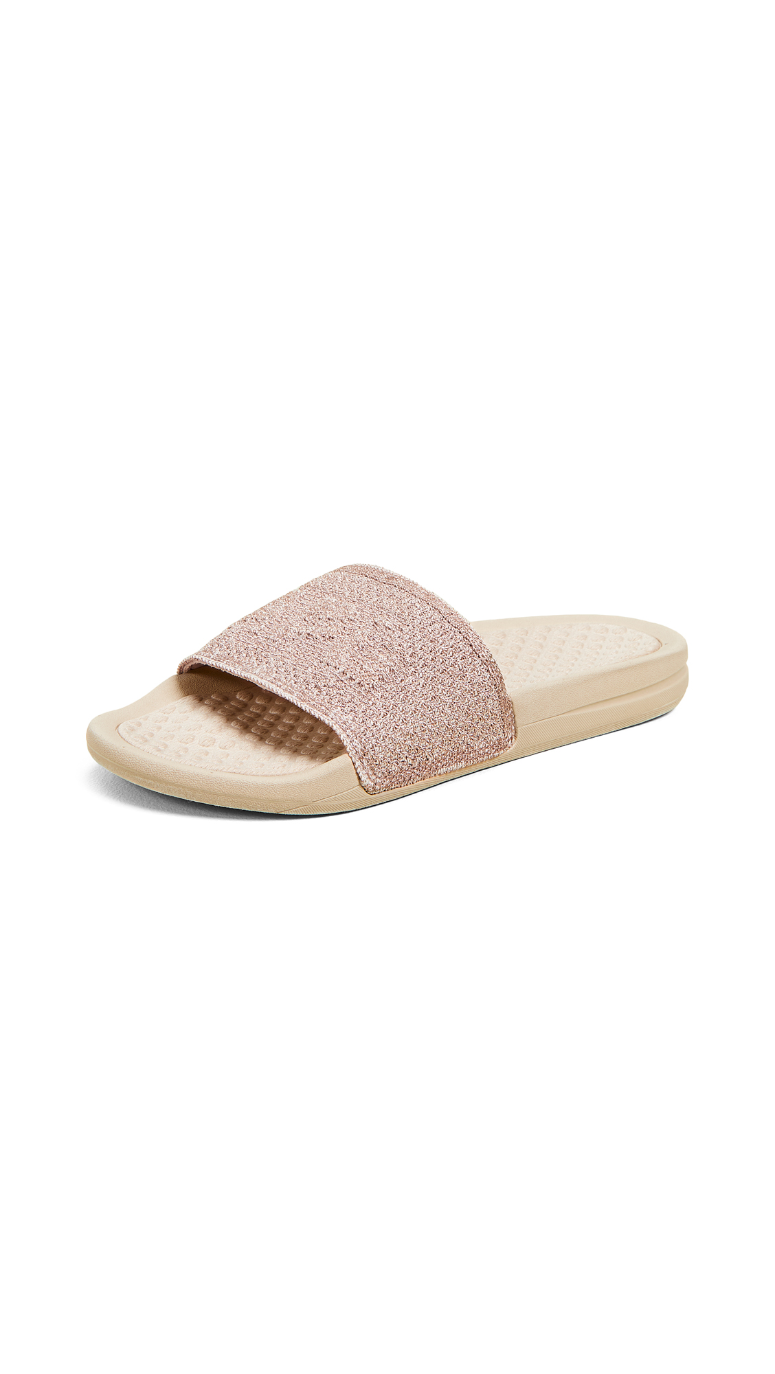 APL: Athletic Propulsion Labs Big Logo TechLoom Slides - Rose Gold