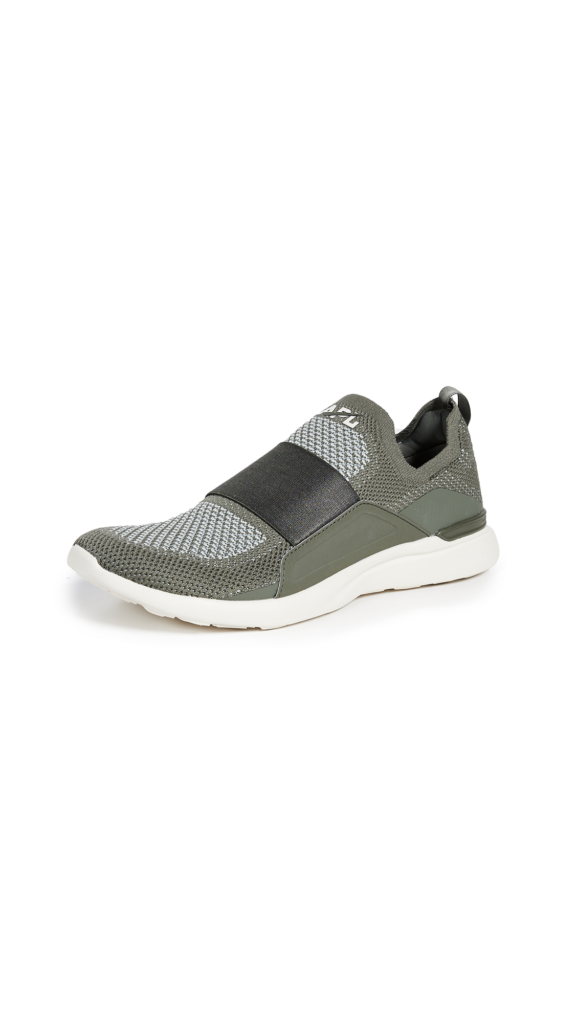 APL: Athletic Propulsion Labs TechLoom Bliss Sneakers - Fatigue/Aqua Grey/Pristine