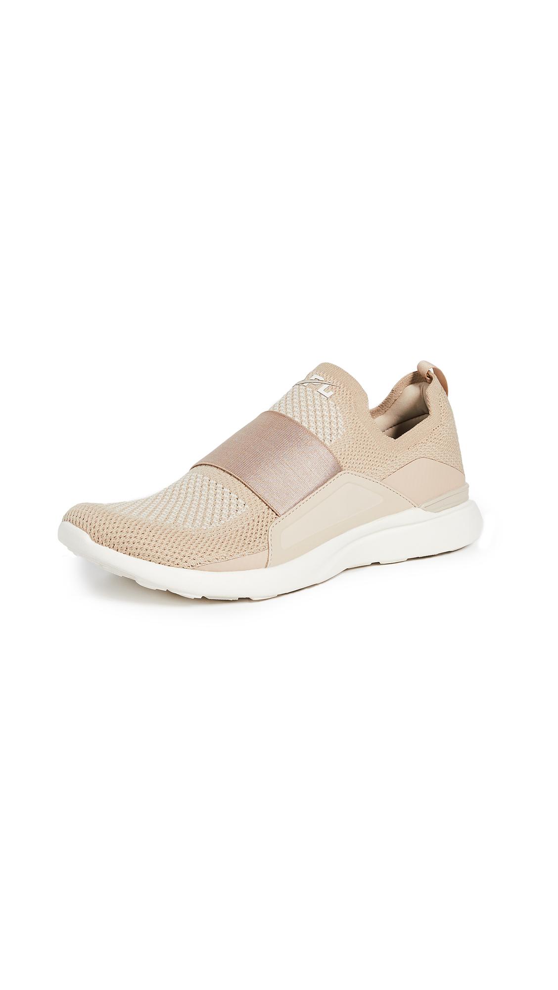 APL: Athletic Propulsion Labs TechLoom Bliss Sneakers - Irish Cream/Parchment/Pristine