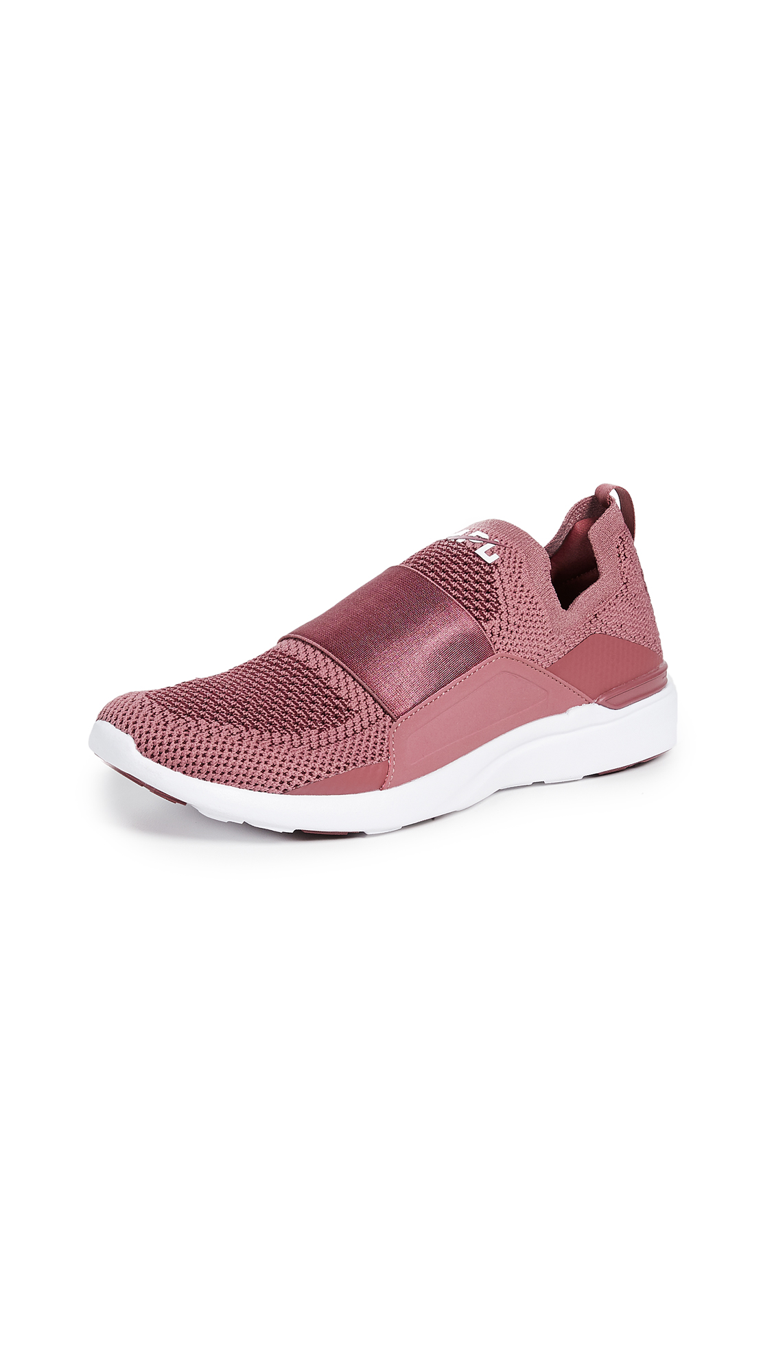 APL: Athletic Propulsion Labs TechLoom Bliss Sneakers - Roan Rouge/Burgundy/White