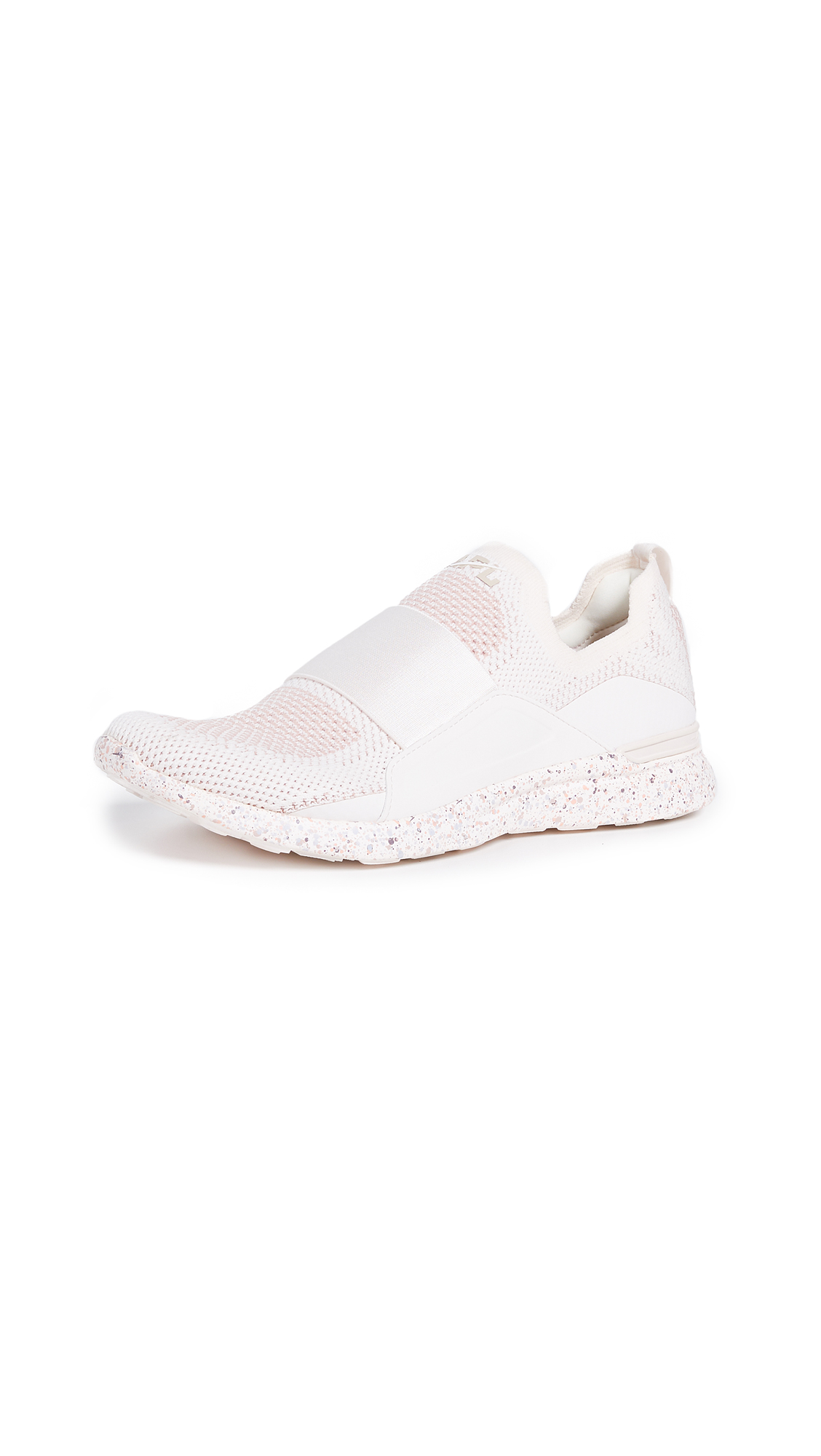 APL: Athletic Propulsion Labs TechLoom Bliss Sneakers - Sea Salt/Rose Dust/Salmon