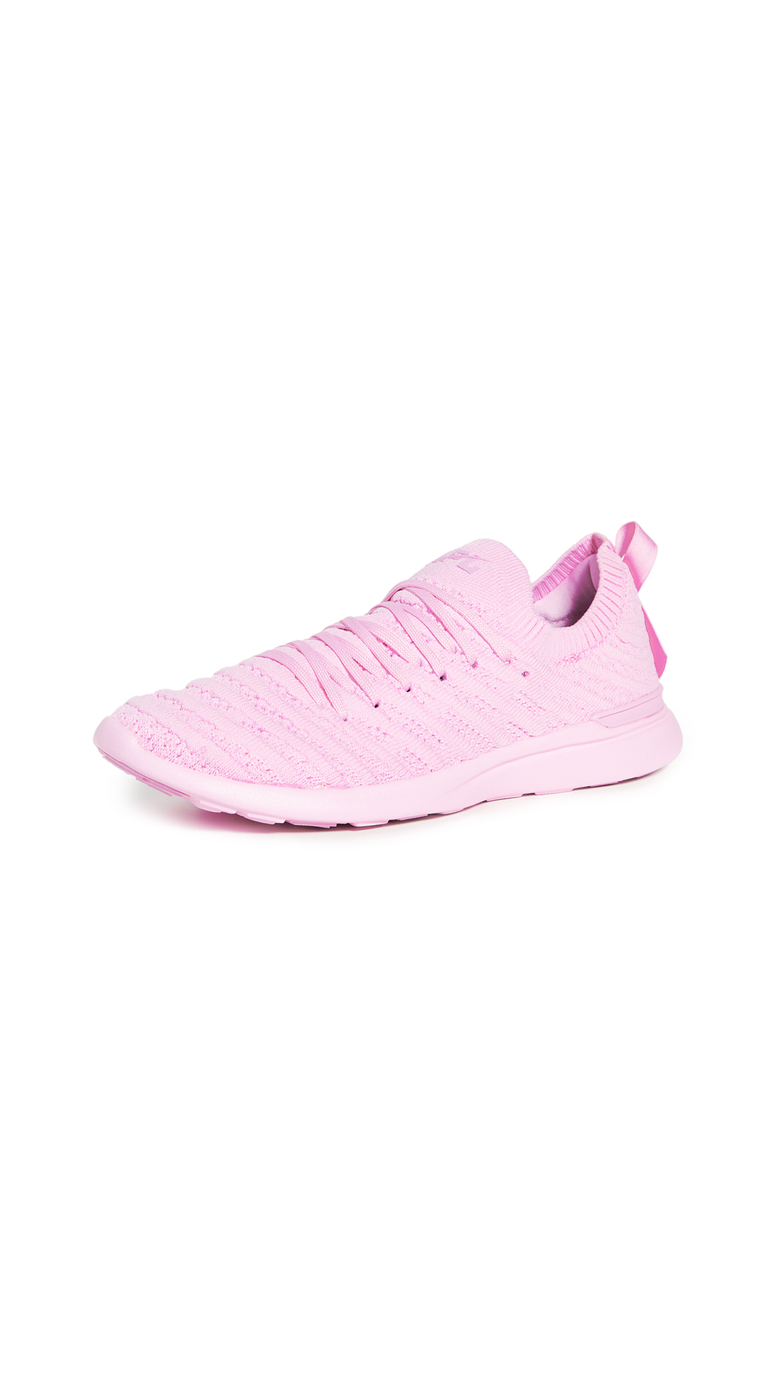 Buy APL: Athletic Propulsion Labs online - photo of APL: Athletic Propulsion Labs Limited Edition Breast Cancer Awareness Month TechLoom Wave Sneakers