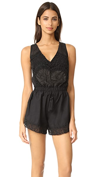 Place Nationale Santa Giulia Lace Playsuit at Shopbop
