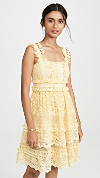 596544c10e63 Place Nationale. Le Cros Lace Tiered ...