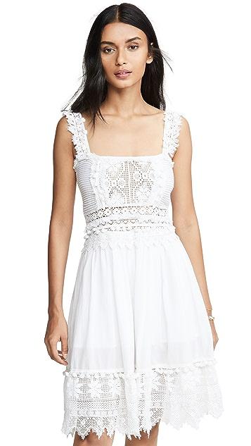 Place Nationale Le Cimon Lace Mini Dress