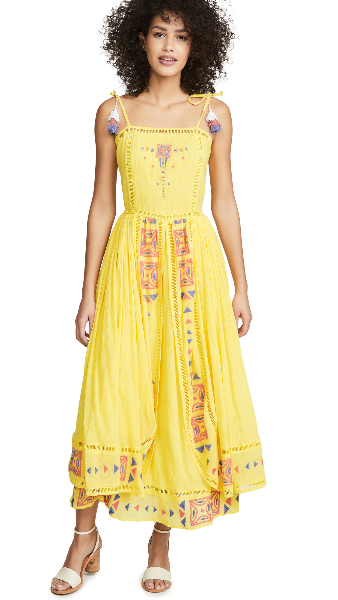 Place Nationale La Voilier Layered Maxi Sundress – 40% Off Sale