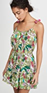 Playa Lucila Floral Short Dress