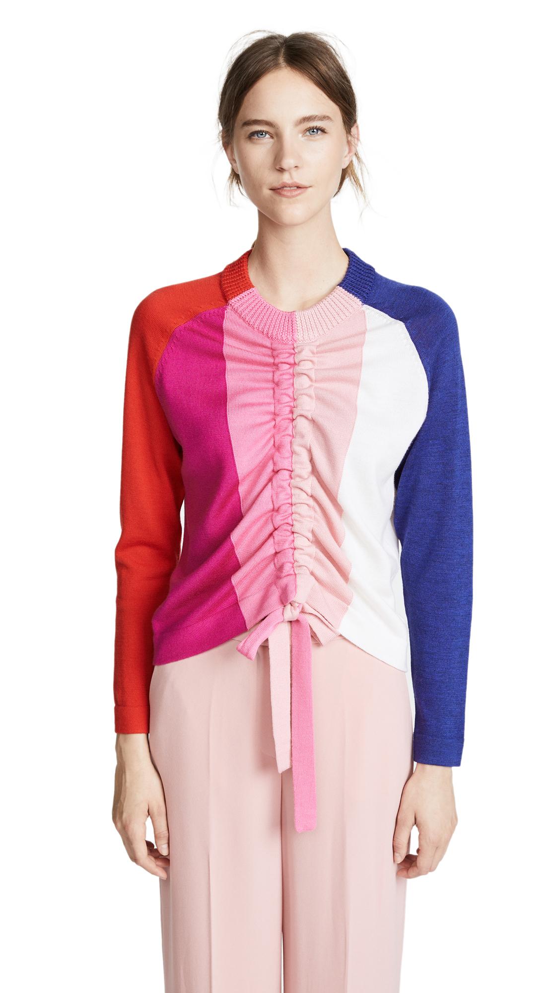 Raft Sweater, Rainbow Stripe