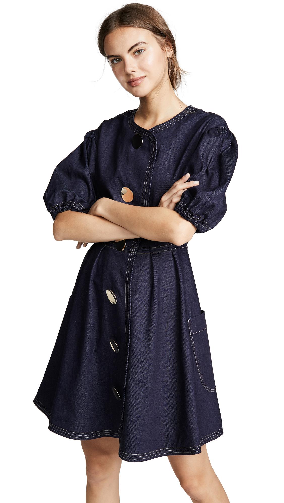 PAPER London Anita Puff Sleeve Dress