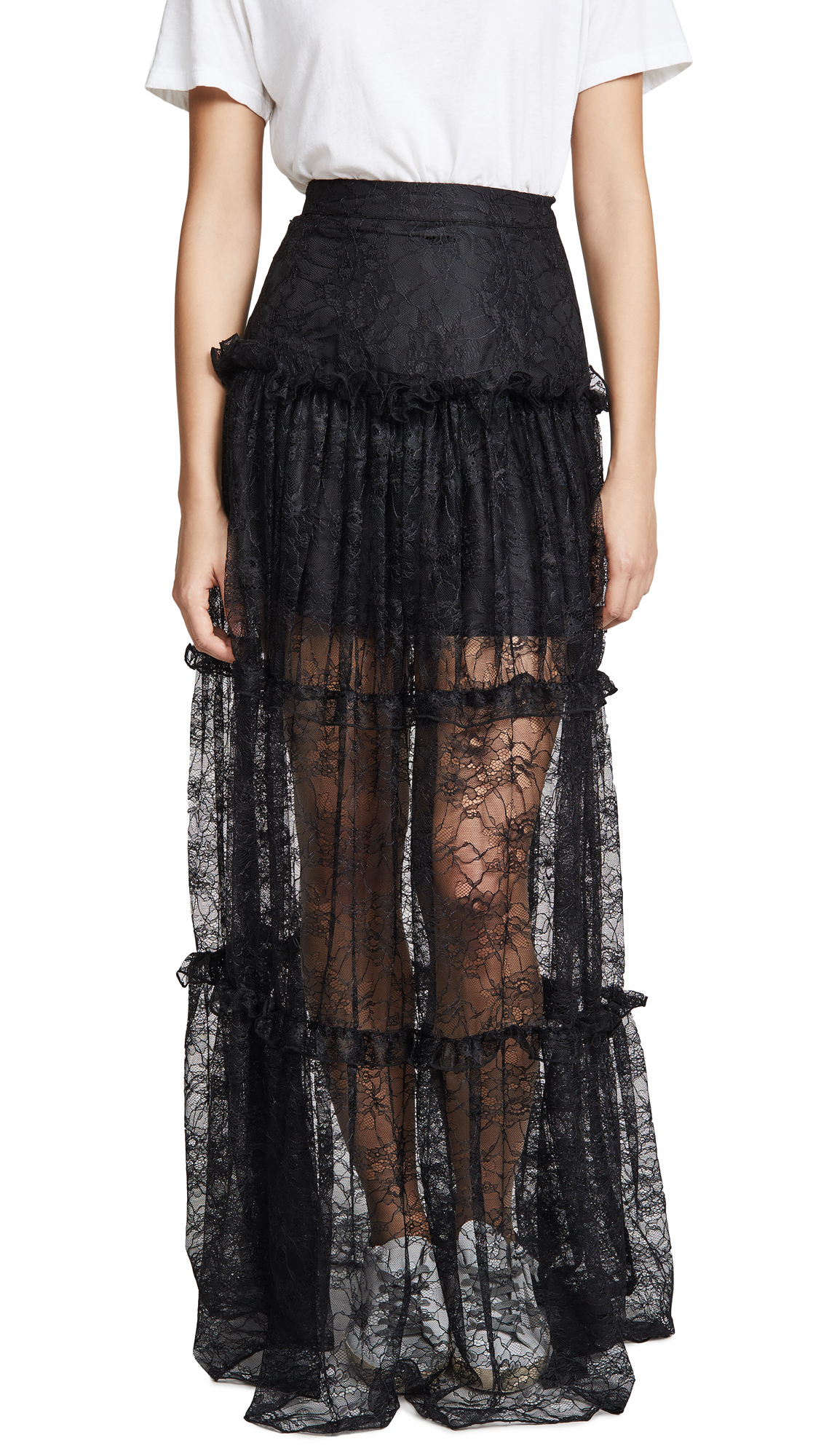 Buy PAPER London online - photo of PAPER London Coquillage Skirt