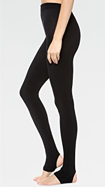 Plush Fleece Lined Tights with Stirrup