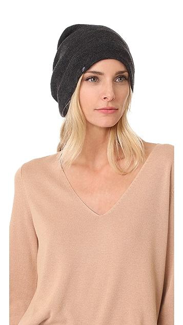 Plush Barca Slouchy Fleece Lined Hat