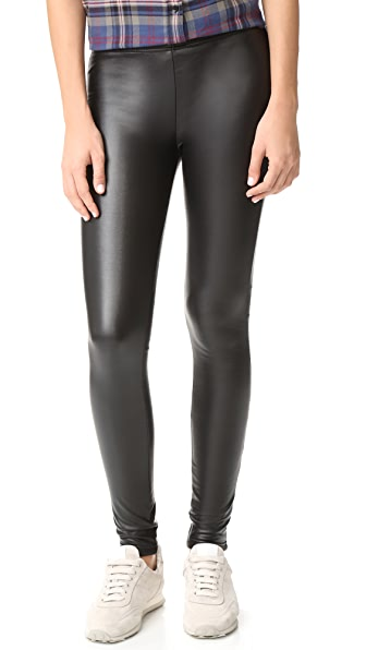 Fleece Lined Liquid Leggings