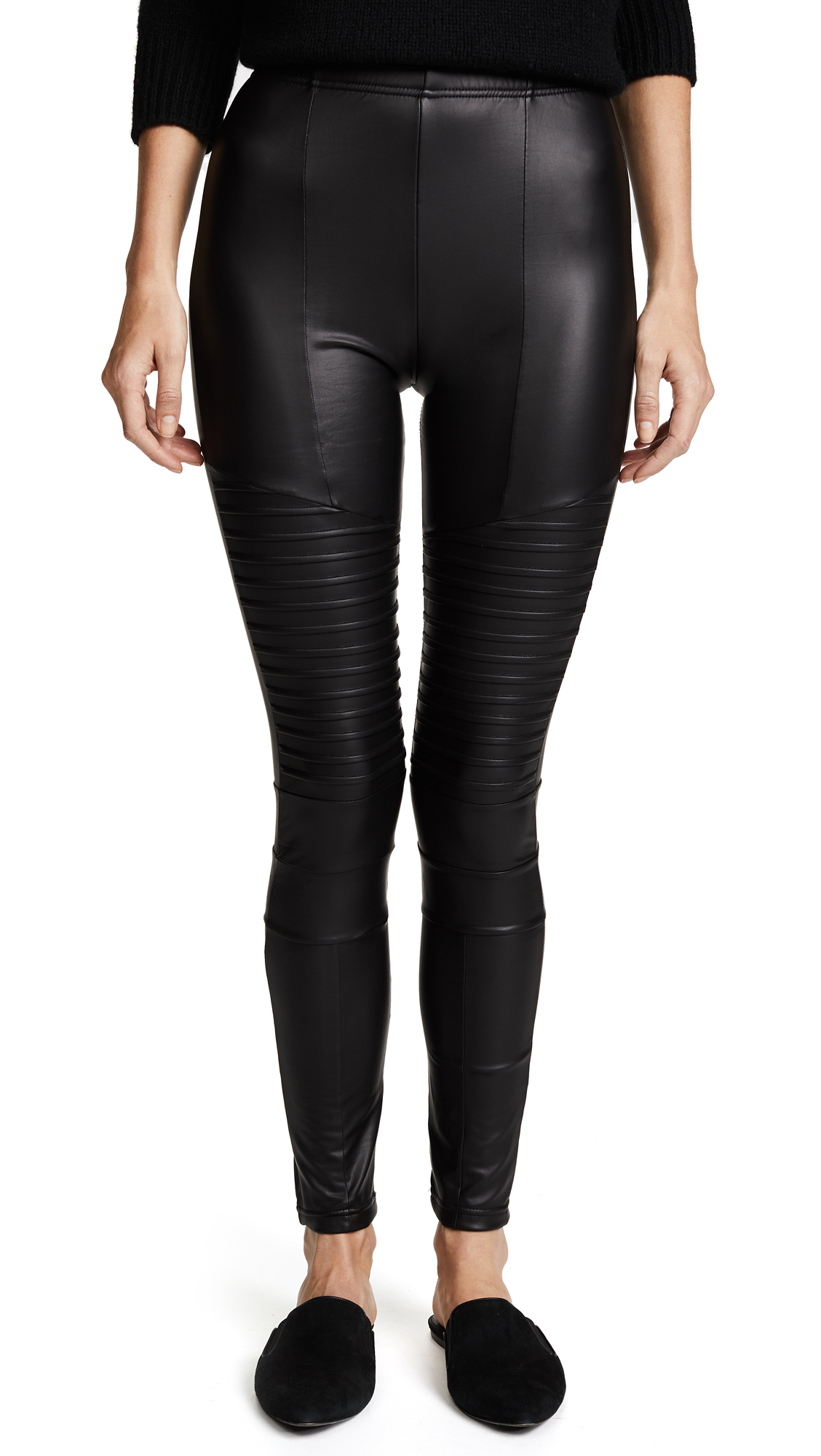 Fleece Lined Liquid Moto Leggings