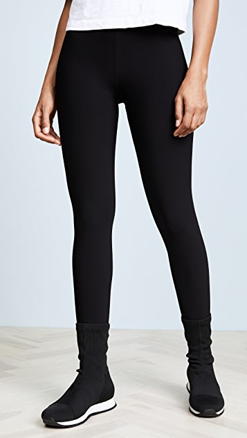 Plush Fleece Lined Stirrup Leggings