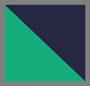 Navy/Green Plaid