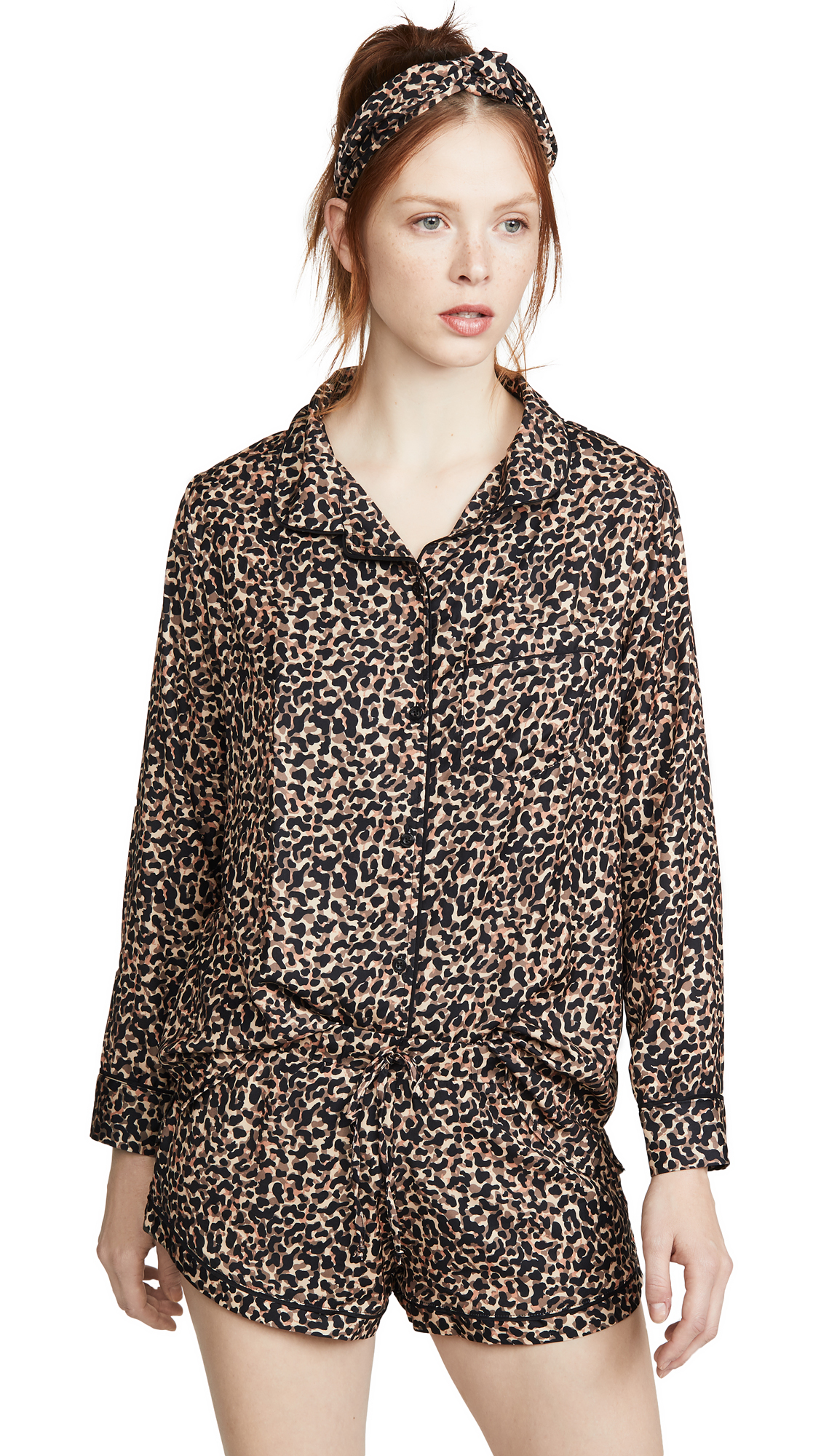 Buy Plush online - photo of Plush Cheetah PJ Set with Headband