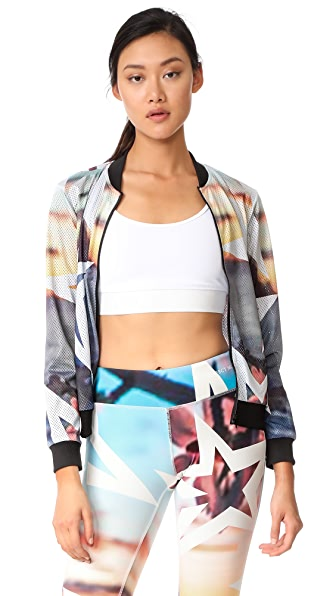 Perfect Moment AOP Mesh Jacket - Ibiza