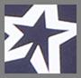 Navy Snow White Stars