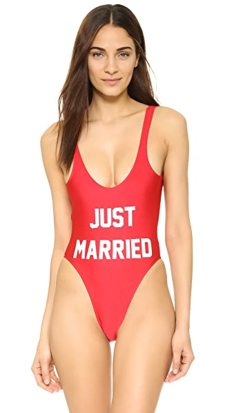 Private Party Just Married One Piece