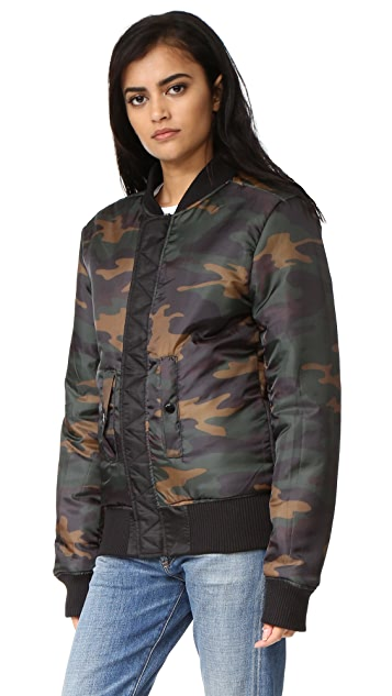 Private Party Rose All Day Bomber Jacket