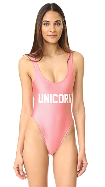 Private Party Unicorn One Piece - Pink