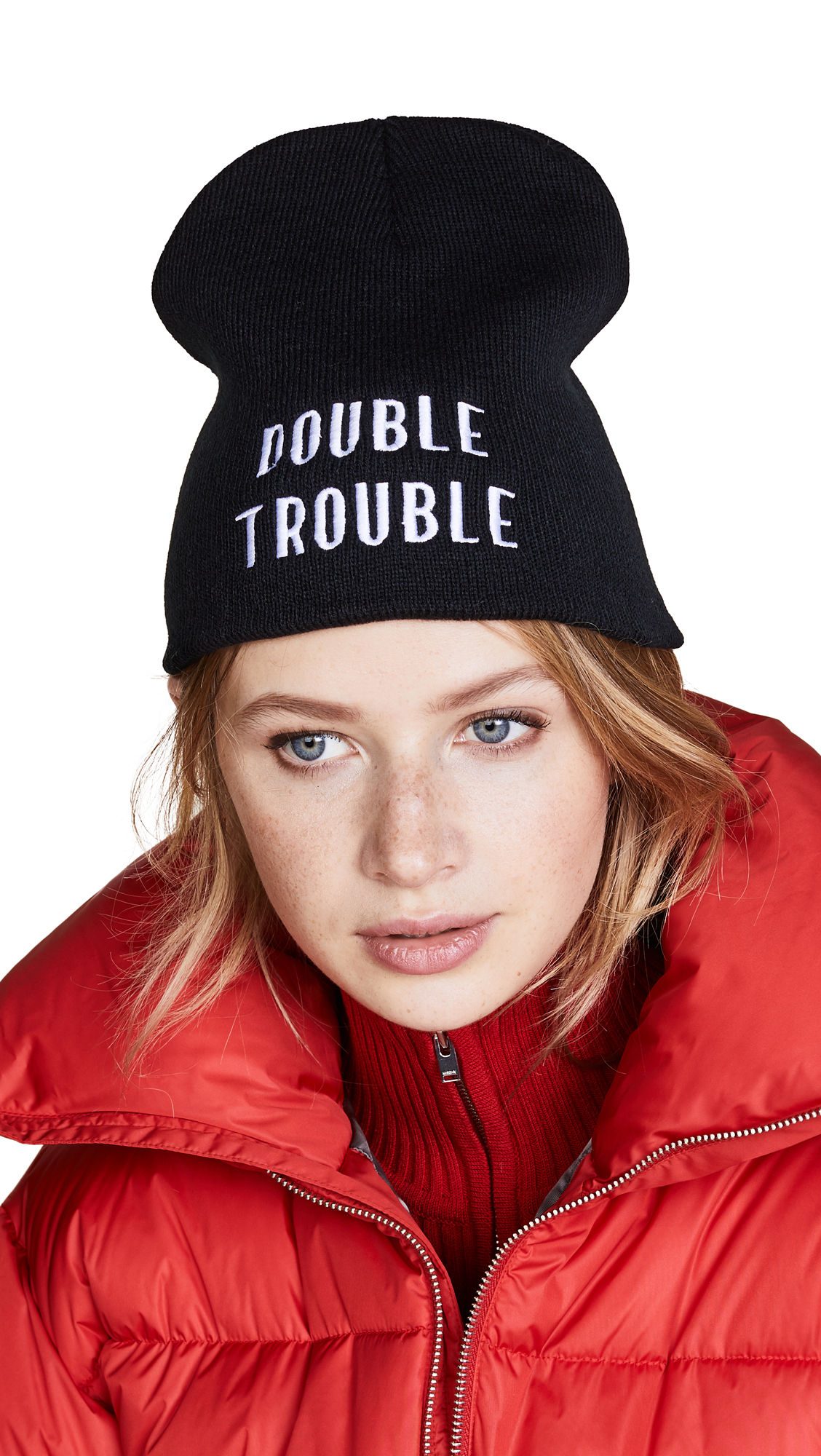 Private Party Double Trouble Hat In Black