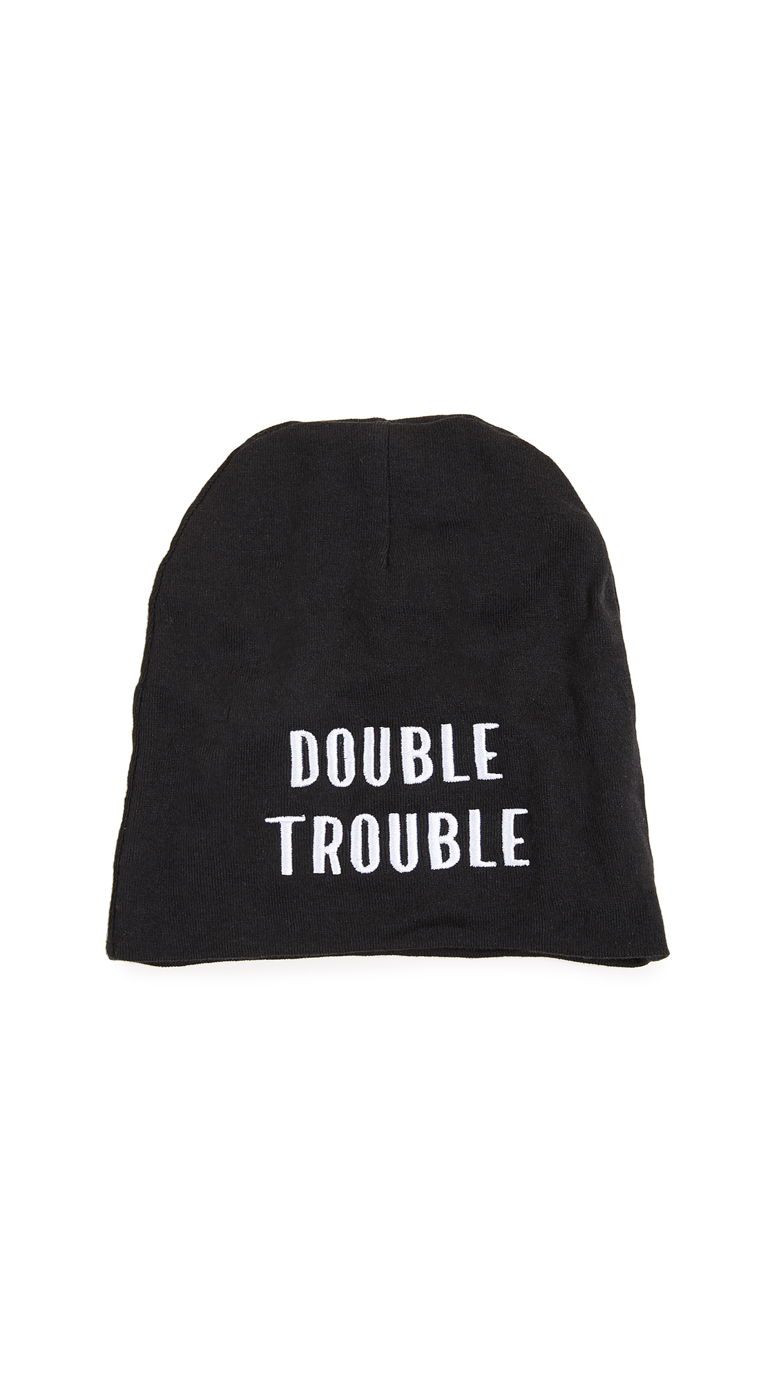 Private Party Double Trouble Baby Hat - Black