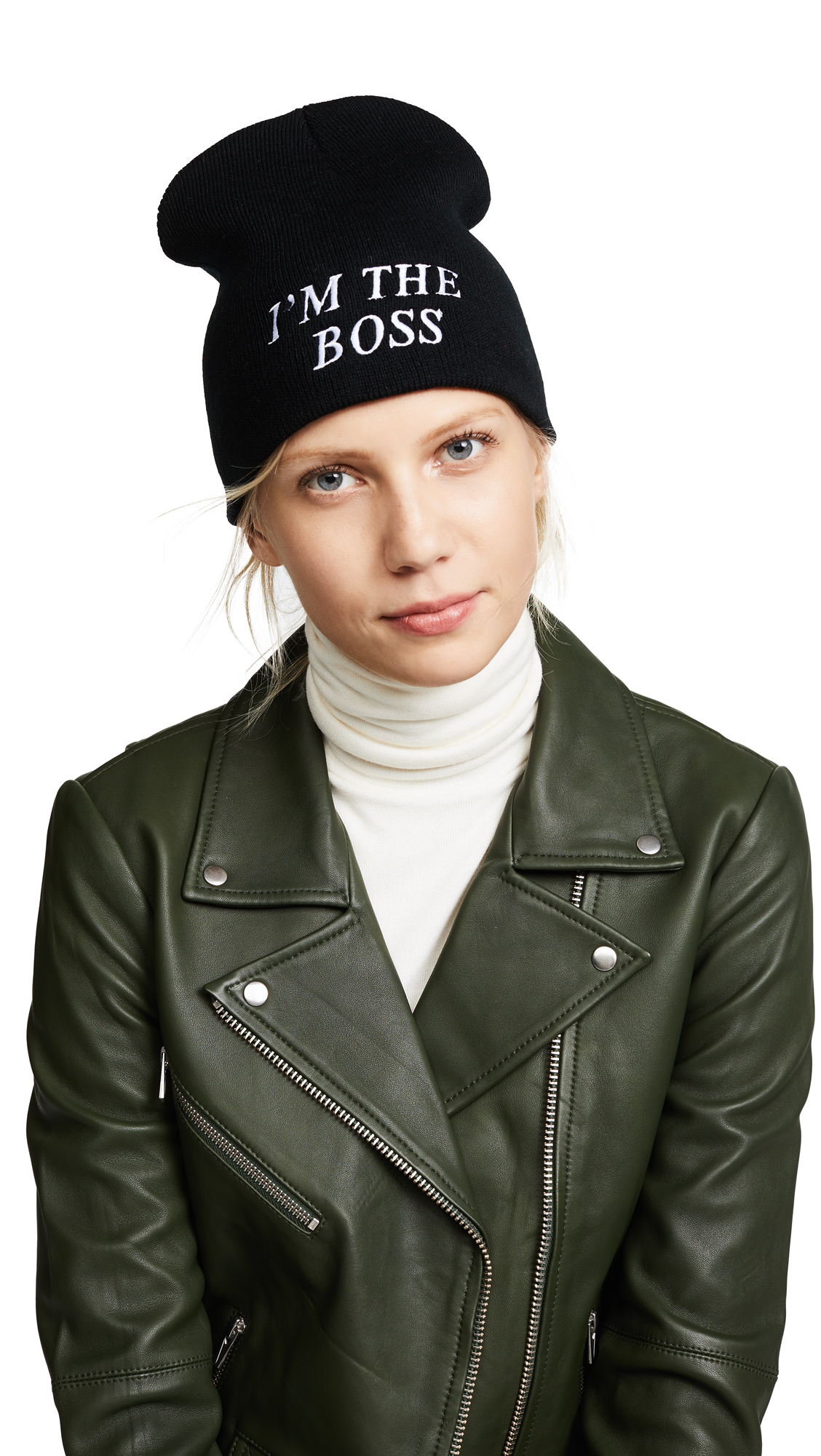 Private Party Im the Boss Hat - Black