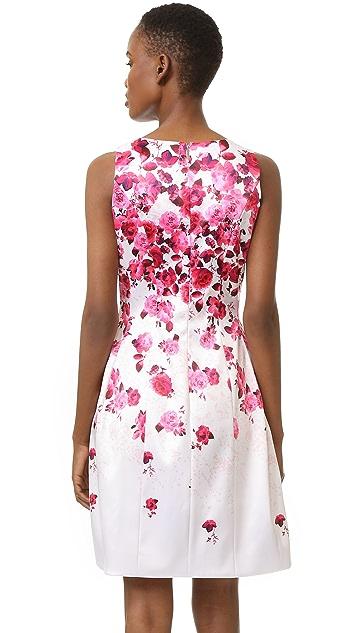 Prabal Gurung Molded Seam Dress