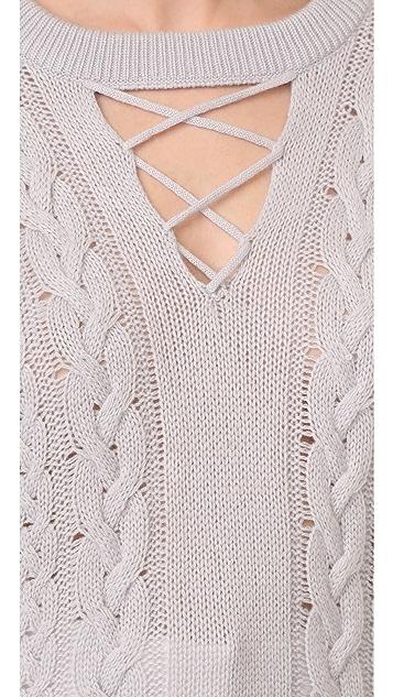 Prabal Gurung V Neck Cashmere Sweater