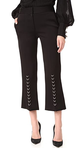 Prabal Gurung Cropped Pants - Black