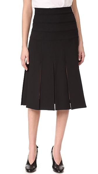 Prabal Gurung Car Wash Skirt - Black