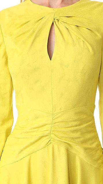 Prabal Gurung Twist Dress with Keyhole