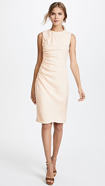 Prabal Gurung Sheath Dress with Ruching Detail