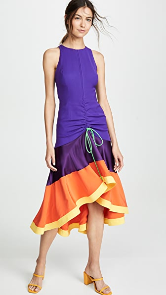 Prabal Gurung Dresses JHANTA GATHERED FRONT DRESS