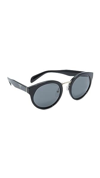 Prada Round Sunglasses at Shopbop
