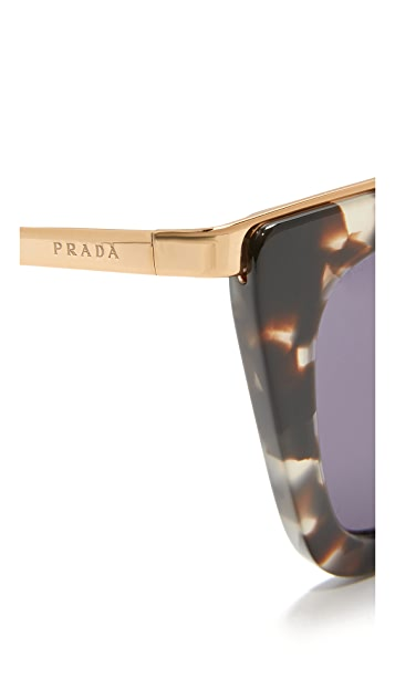 Prada Metal Bridge Sunglasses