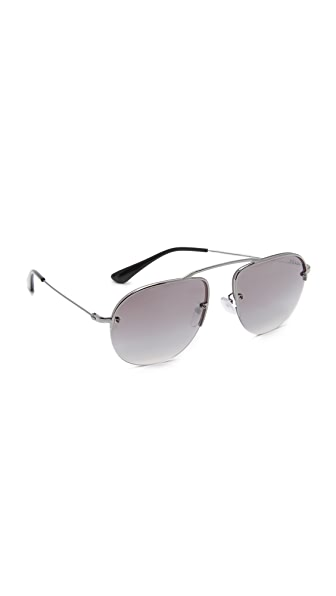 Prada Brow Bar Sunglasses