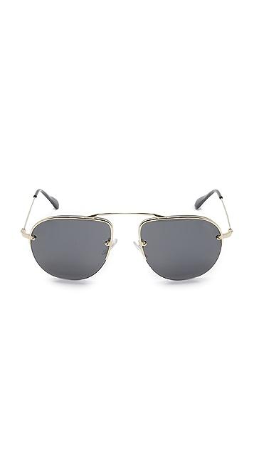 Prada Brow Bar Sunglasses